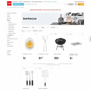 wegwerpbarbecue folder aanbieding bij Big Bazar details