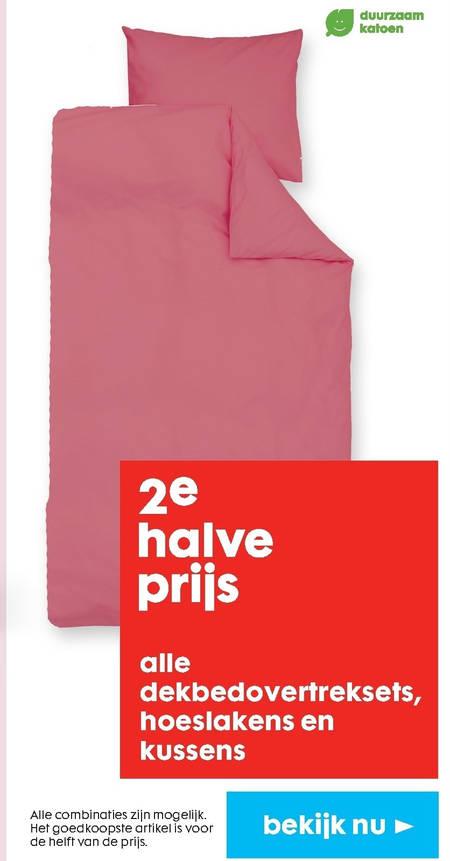 Hema huismerk   hoeslaken, dekbedovertrek folder aanbieding bij  Hema - details