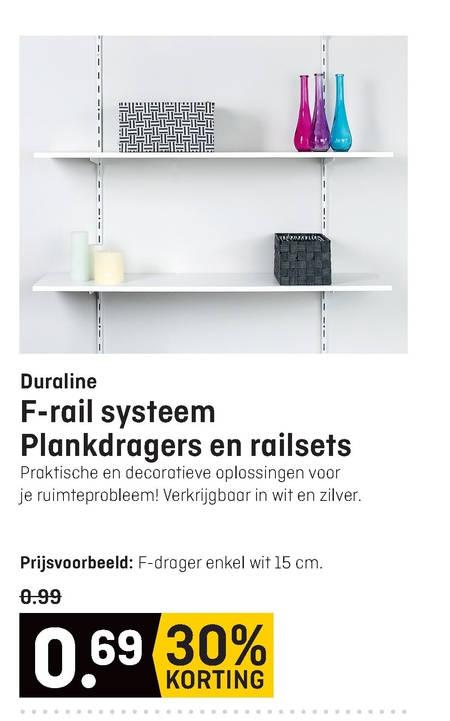 Zilveren Zitzak Kwantum.Plankdrager Folder Aanbieding Bij Multimate Details