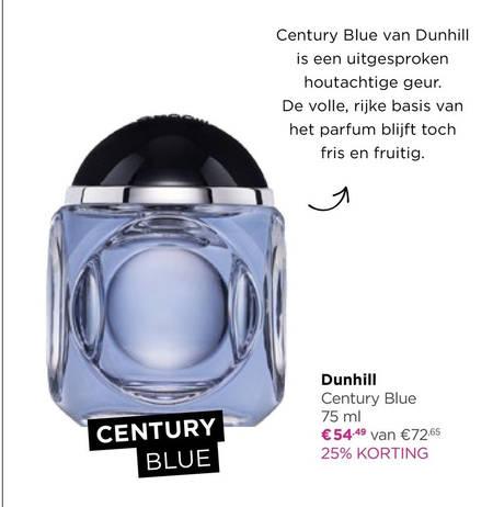 Dunhill   eau de toilette folder aanbieding bij  IciParisXL - details