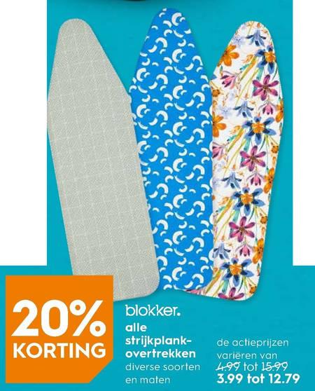 Blokker Huismerk   strijkplankovertrek folder aanbieding bij  Blokker - details