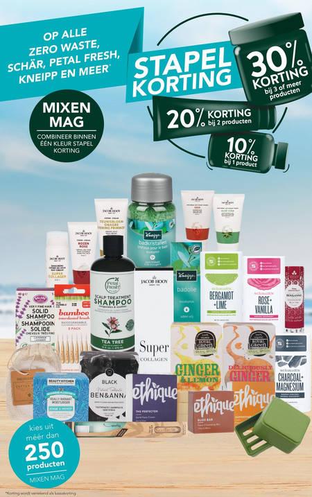 Dr Organic   shampoo, dagcreme folder aanbieding bij  Holland&Barrett - details