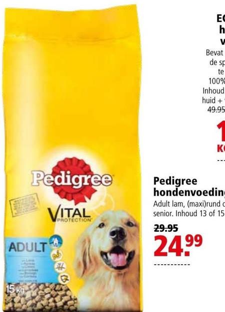 Pedigree   hondenvoer folder aanbieding bij  Welkoop - details