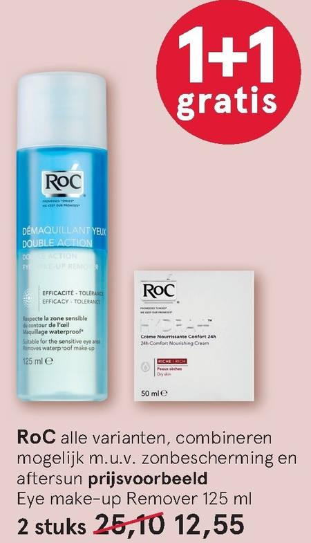RoC   gezichtsverzorging, dagcreme folder aanbieding bij  Etos - details