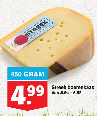 Boerenkaas   kaas folder aanbieding bij  Hoogvliet - details