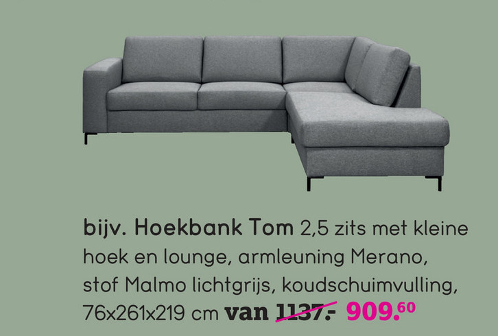 Kleine Hoekbank Stof.Hoekbank Folder Aanbieding Bij Leenbakker Details