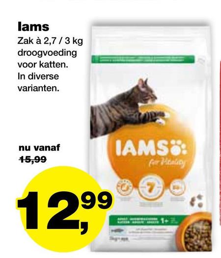 IAMS   kattenvoer folder aanbieding bij  Jumper - details