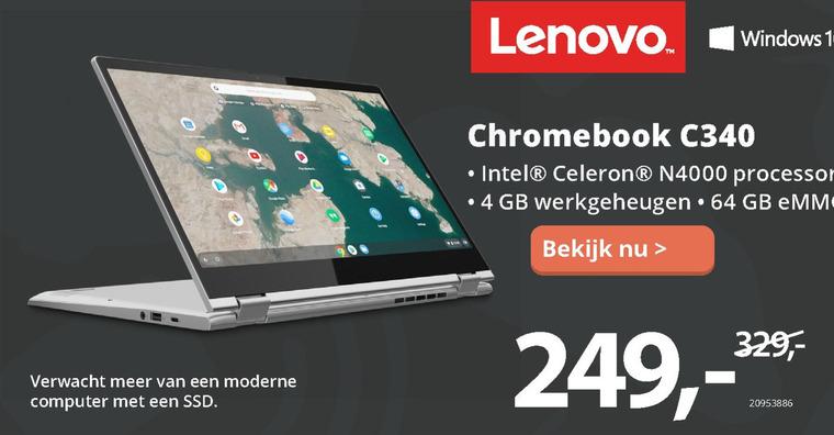 Lenovo   notebook folder aanbieding bij  Paradigit - details