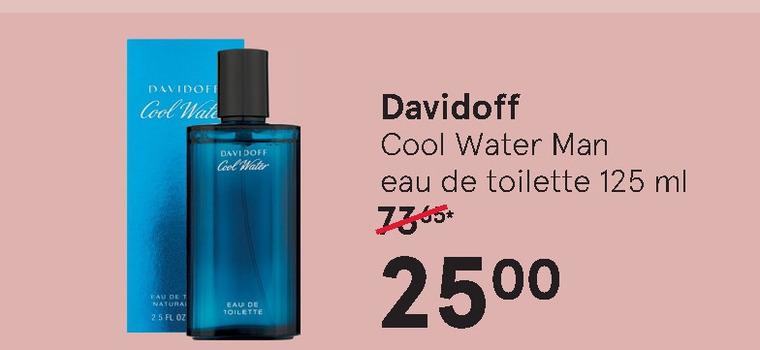 Davidoff   eau de toilette folder aanbieding bij  Etos - details