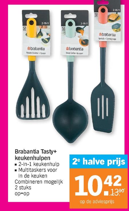 Brabantia   kookgerei folder aanbieding bij  AlbertHeijn - details
