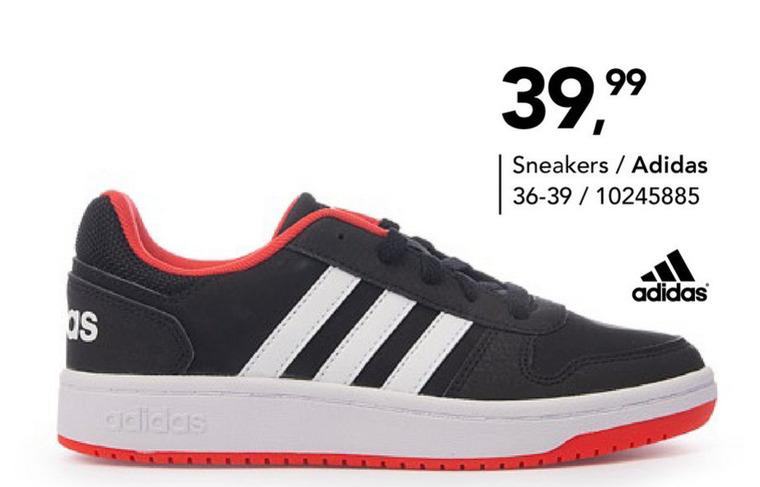 Adidas jongens sneakers folder aanbieding bij Bristol details