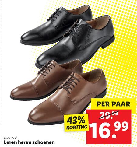 Leren heren schoenen kopen? | LIDL