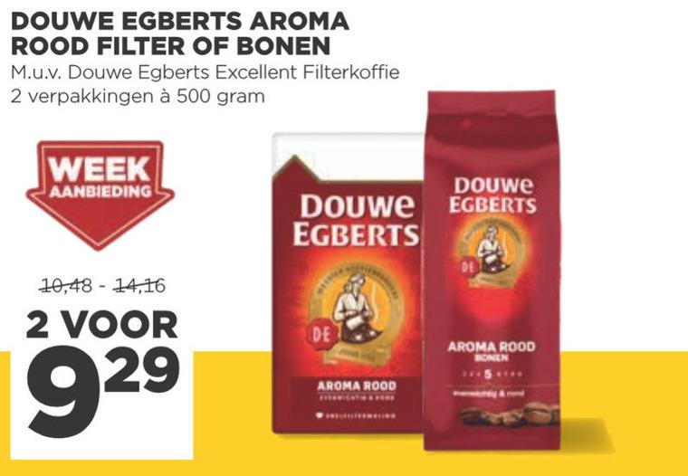 Douwe Egberts   koffie, koffiebonen folder aanbieding bij  Jumbo - details