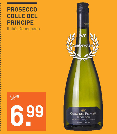 Colle del Principe   prosecco folder aanbieding bij  Gall & Gall - details