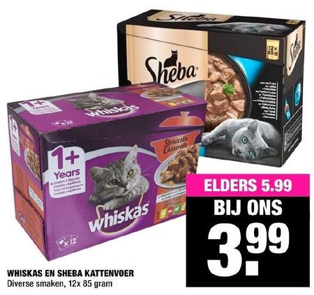 Whiskas   kattenvoer folder aanbieding bij  BigBazar - details