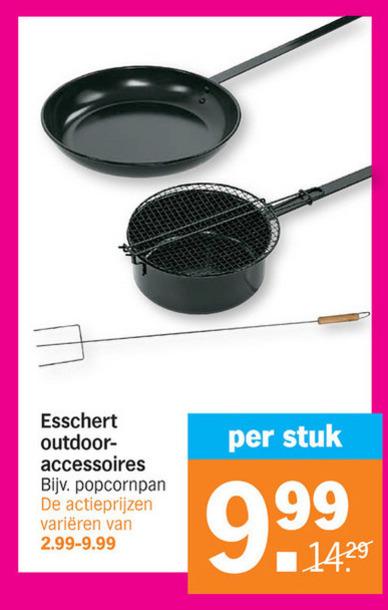 electrische barbecue folder aanbieding bij Albert Heijn