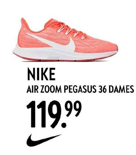 Nike dames sportschoenen folder aanbieding bij Perry Sport