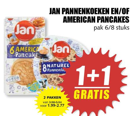 Jan   pannenkoek folder aanbieding bij  MCDSupermarktBasis - details
