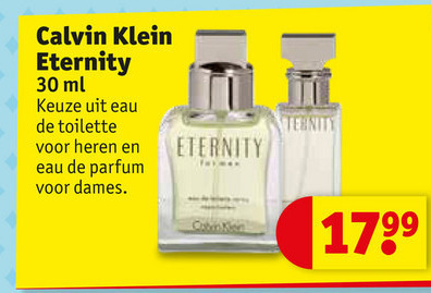 Calvin Klein   eau de toilette, eau de parfum folder aanbieding bij  Kruidvat - details