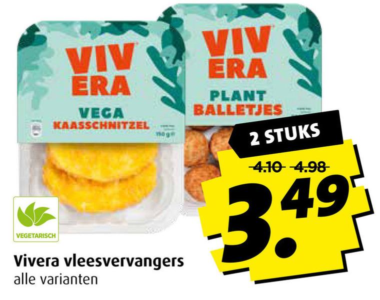 Vivera   vegetarisch folder aanbieding bij  Boni - details