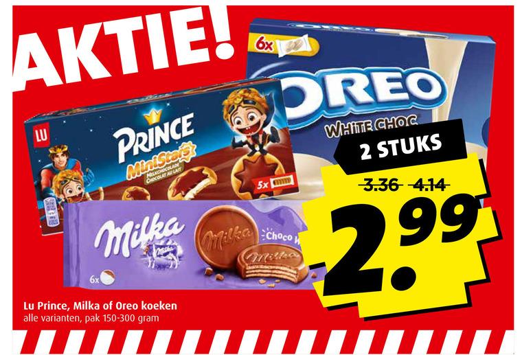 Milka   biscuits folder aanbieding bij  Boni - details