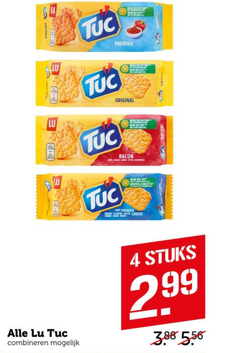 Lu Tuc   zoutje folder aanbieding bij  Coop - details