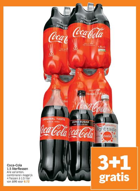 Coca-Cola   cola folder aanbieding bij  AlbertHeijn - details