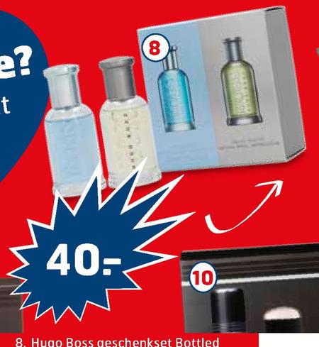 Hugo Boss   parfum geschenkset folder aanbieding bij  Trekpleister - details
