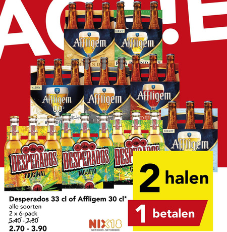 Affligem Speciaalbier Folder Aanbieding Bij Deen Details