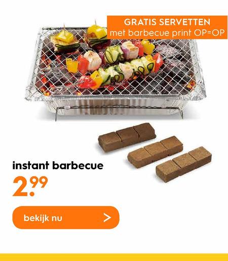 Wegwerpbarbecue Aanbieding bij Blokker