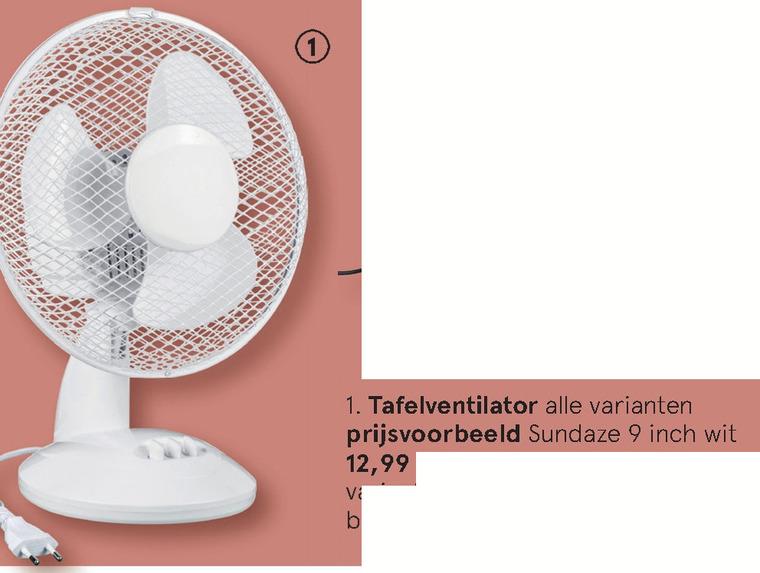 ventilator folder aanbieding bij Etos details