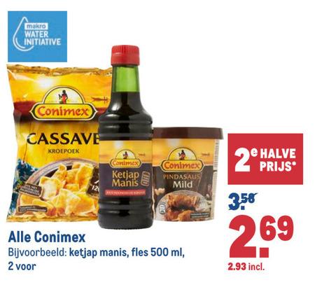 Conimex   maaltijdmix, ketjap folder aanbieding bij  Makro - details