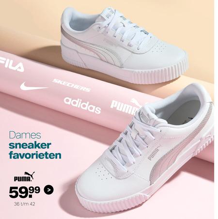 Puma dames sneakers folder aanbieding bij Van Haren - details