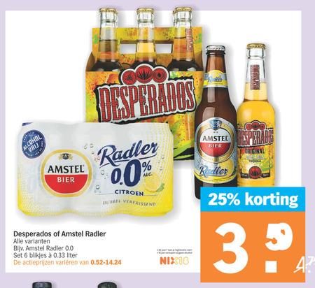 Desperados Radler Bier Folder Aanbieding Bij Albert Heijn Details