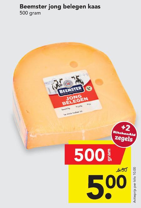 Beemster   kaas folder aanbieding bij  Deen - details