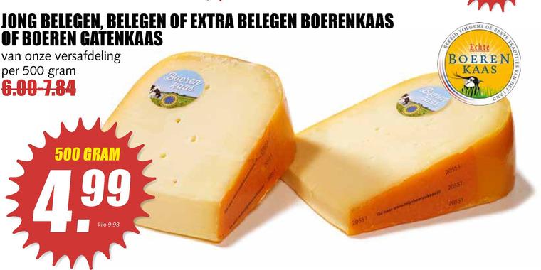 Boerenkaas   kaas folder aanbieding bij  MCDSupermarktBasis - details