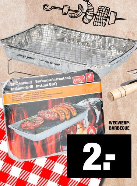 wegwerpbarbecue folder aanbieding bij Lidl details