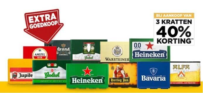 Alfa   krat bier folder aanbieding bij  Jumbo - details