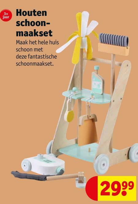 huishoudspeelgoed folder aanbieding bij Kruidvat details