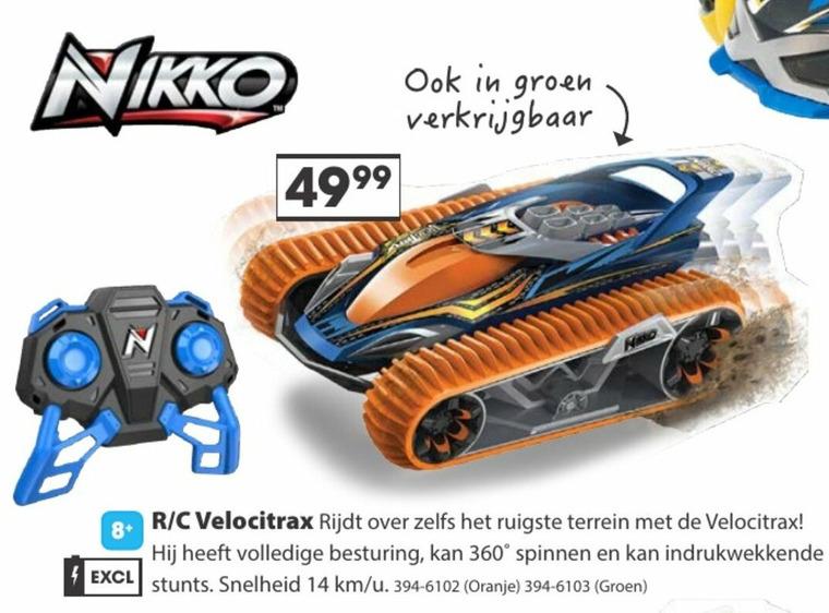 Nikko   auto met afstandsbediening folder aanbieding bij  Top1Toys - details