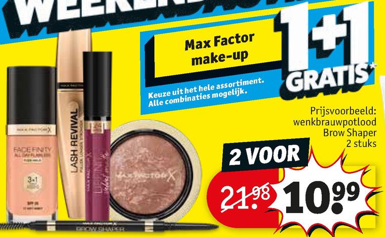 Max Factor   cosmetica, foundation folder aanbieding bij  Kruidvat - details