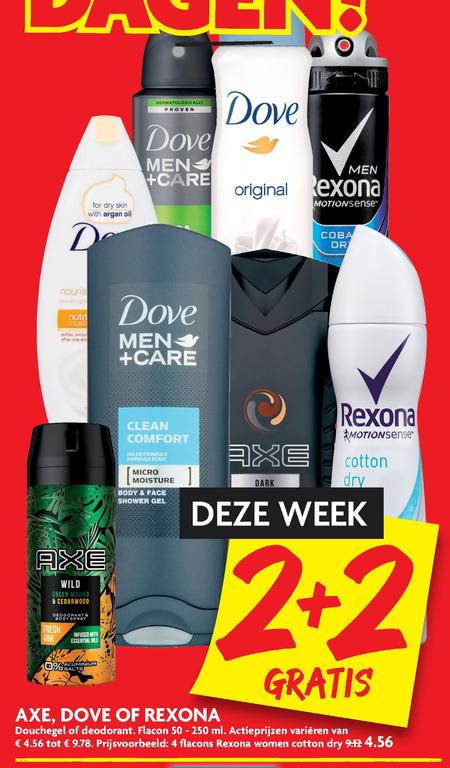 Axe   deodorant, douchegel folder aanbieding bij  Dekamarkt - details