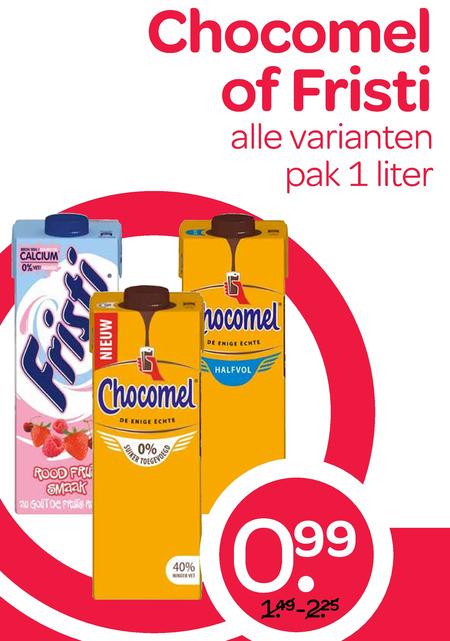 Chocomel   drinkyoghurt, chocolademelk folder aanbieding bij  Spar - details