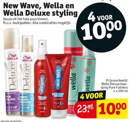 Wella   hairspray, haargel folder aanbieding bij  Kruidvat - details
