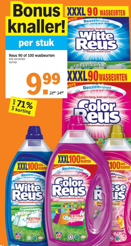 Color Reus   wasmiddel folder aanbieding bij  AlbertHeijn - details