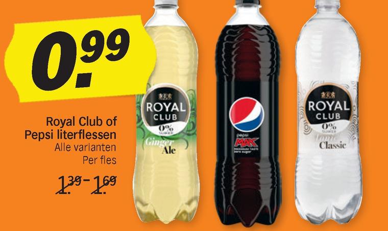 Pepsi   cola, frisdrank folder aanbieding bij  AlbertHeijn - details