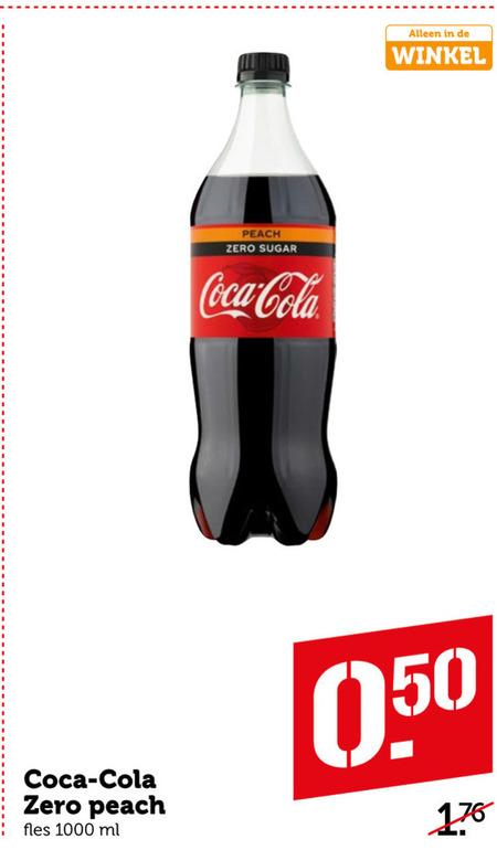 Coca-Cola   cola folder aanbieding bij  Coop - details