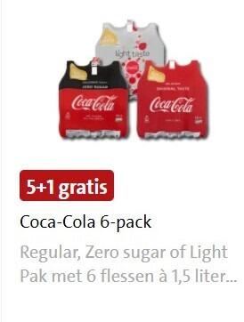 Coca-Cola   cola folder aanbieding bij  Jumbo - details