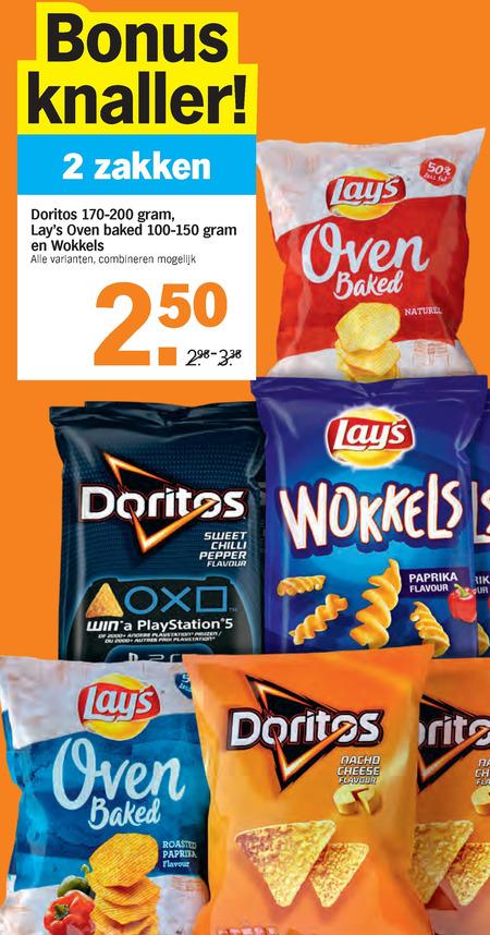 Doritos   chips, zoutje folder aanbieding bij  AlbertHeijn - details