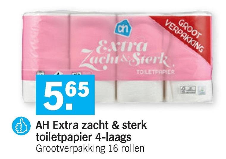Albert Heijn Huismerk   toiletpapier folder aanbieding bij  AlbertHeijn - details